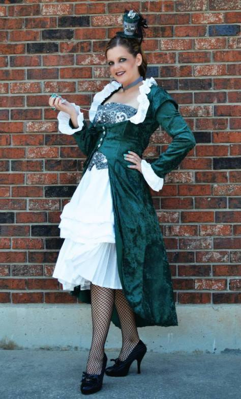 Cosplayer: Blundergirl Whovian Character: Steampunk Eighth Doctor Makeup: Krista's Beauty and Bliss