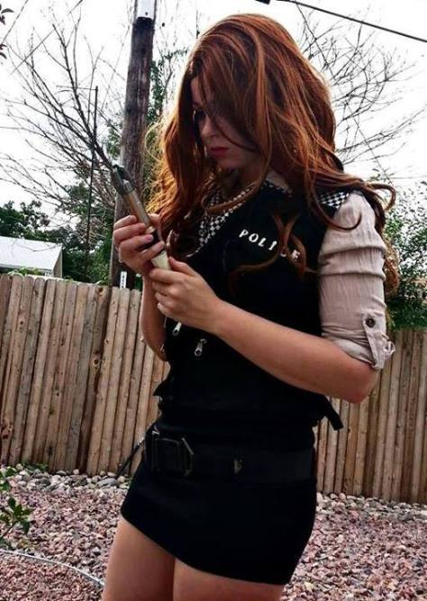 Cosplayer: Kristin Williams-Cosplayer&Model Character: Amy Pond