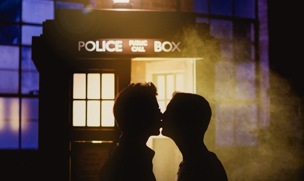 Whovian Engagement Photos