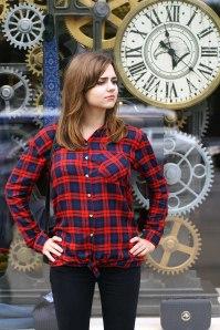 Cosplayer: Olesya Lyuzna Character: Clara Oswald