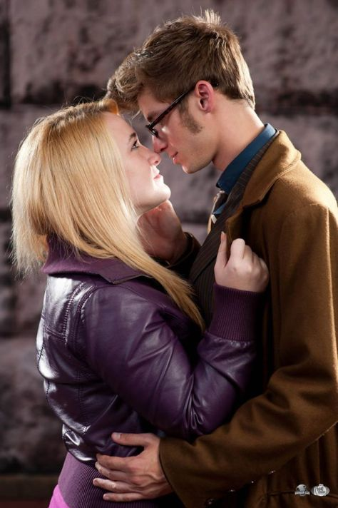 Cosplayers: Jessica Smith and Rich Berti Characters: Rose Tyler and Tenth Doctor Photo: Bryan Humphrey: Mad Scientist with a Camera